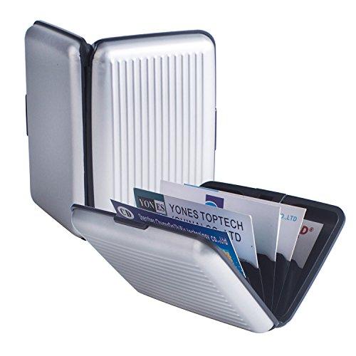 Pocket Waterproof Business ID Credit Card Wallet Holder Box Case - 2