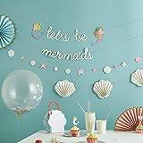 Meri Meri Let's Be Mermaids Garland - 2