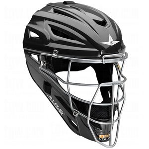 All-Star Adult System 7 Catcher's Helmet - Black by All-Star