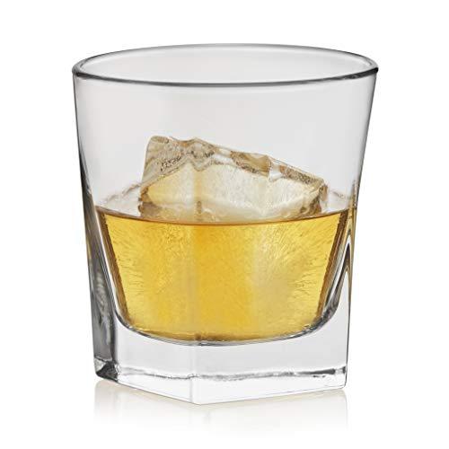 Libbey Craft Spirits Bourbon Rocks Glasses, Set of 12