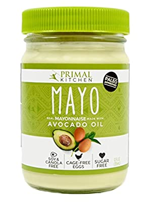 Primal Kitchen - Avocado Oil Mayo, First Ever Avocado Oil-Based Mayonnaise, Paleo Approved and Organic (12 Ounce, 2 Jars) by Primal Kitchen