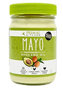 Primal Kitchen – Avocado Oil Mayo, First Ever Avocado Oil–Based Mayonnaise, Paleo Approved and Organic (12 Ounce, 2 Jars)
