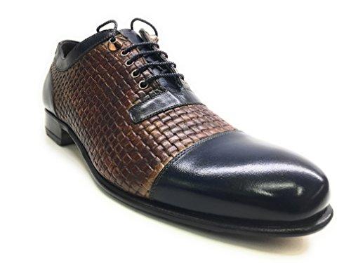 Harris , Chaussures de ville à lacets pour homme marron MORO E BLU YES 10UK