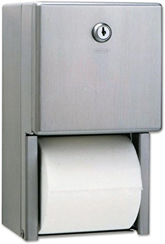 Bobrick B-2888 Surface-Mounted Multi-Roll Toilet Tissue Disp