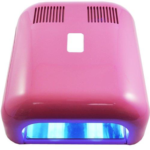 Beauties Factory 36W UV Gel Nail Art Curing Dryer Lamp + 5 L