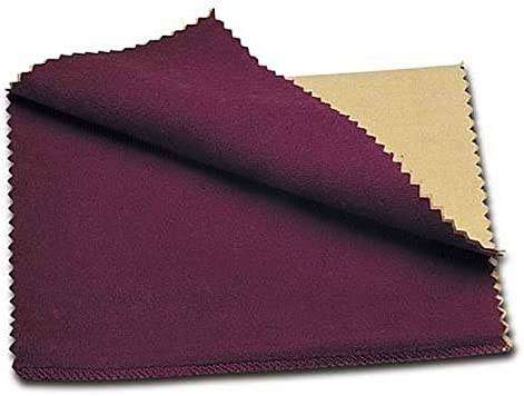 gold polishing cloth Anti-tarnish jewelry cleaning cloth Sterling silver polishing cloth Rouge cloth for all precious metals