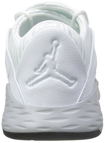 Jordan Mens Formula 23 Low, White/White-Wolf Grey-Black White/Wolf Grey/Black