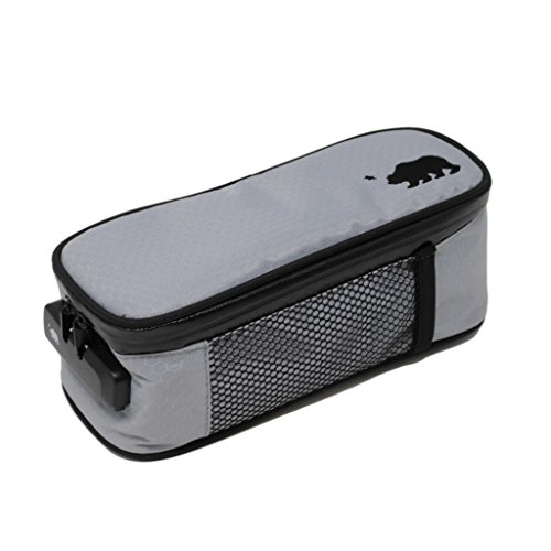 Cali Crusher 100% Smell Proof Soft Case w/Combo Lock (9.5in x 4in x 3.5in) (Gray) ()
