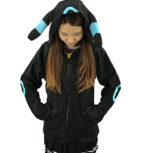 King Ma Unisex Cute Cartoon Stitch Hoodie Costume Zipper up Hooded (Cute Cartoon Costumes)