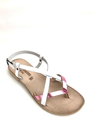 ZETA SHOES - Sandalias de vestir de goma para mujer fucsia