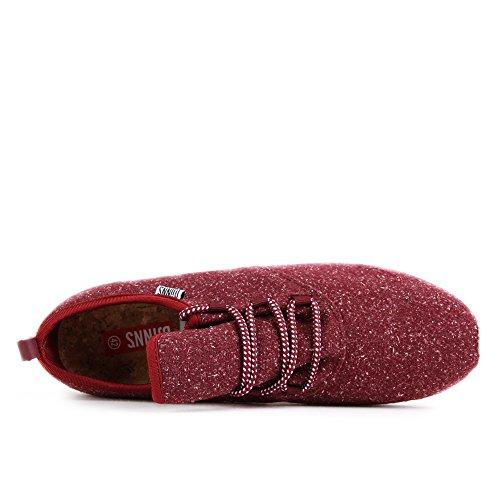 Djinns Men Shoes/Sneakers Moc Lau Spots Red sale pictures 9DGHEOjgz