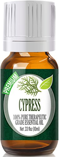 Cypress 100% Pure Best Therapeutic Grade Essential Oil - 10ml