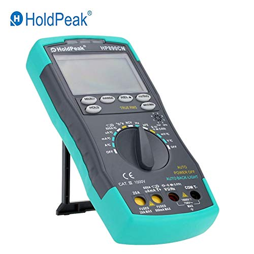 HP-890CN Digital Multimeter AC/DC Ammeter Voltmeter Ohm Portable Meter Resistance Frequency Temperature Cycle Test