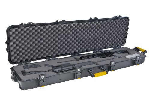 Plano Double Scoped Rifle Case w/Wheels (Double Series Pistol Case Gun)