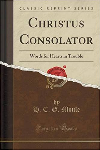 Christus Consolator: Words for Hearts in Trouble (Classic Reprint)