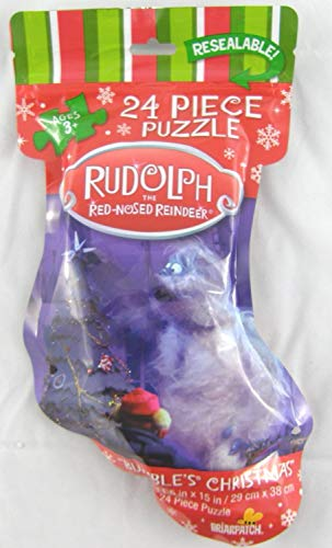- Rudolph the Red-Nosed Reindeer Bumble's Christmas 24 Piece Jigsaw Puzzle