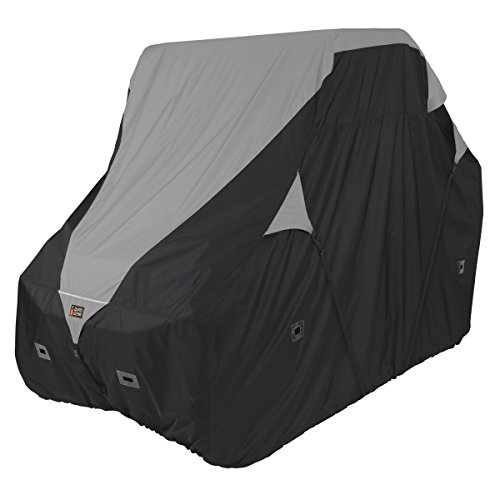 Classic Accessories QuadGear Black/Grey QuadGear UTV Deluxe Storage Cover (For Crew Cab UTVs Up To 150