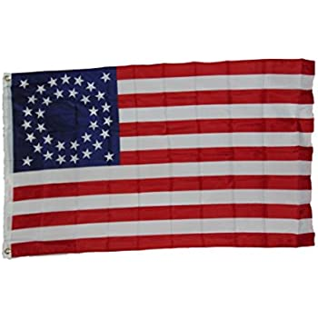 Amazon.com : Civil War 35 Star Union Flag 3x5 3 X 5 Feet New Polyester : Outdoor Flags ...  Amazon.com : Ci...