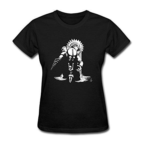 YIZE Womens BioShock Short Sleeve Cotton T-Shirt Black S]()
