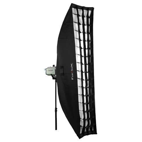 Fotodiox Pro New Soft Box, Black (SBX-Stnd-Elinchrom-12x56-Kit)