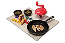 Keilen Origins 5 Piece Taco Making Set, Multicolored