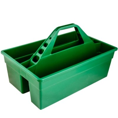 Green 17'' L x 11'' W x 11'' H Tote Max Rubber Caddy Container (1 Container)