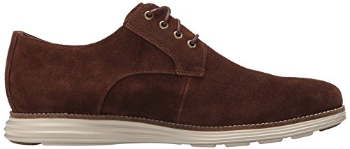 Cole Haan Hommes Dorigine Grand Plaine Oxford Muir Ch Suede / Ivoire