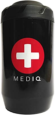 Tactical First Aid Kit: MED IQ - First Aid Kit for Cyclists and Triathletes from PEDAL IQ LLC