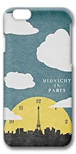 iphone 4s Case, Customized Slim Protective Hard 3D Case Cover for Apple iphone 4s- Midnight In Paris
