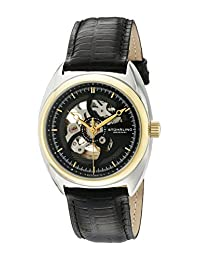 Stuhrling Original Men's 381.33G51 Classic Delphi Tandem Skeleton Automatic Watch