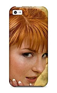 For Iphone 5c Premium Tpu Case Cover Sexy Redhead Protective Case