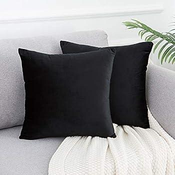 Amazon.com: 4-Pack 100% Cotton Comfortable Solid Decorative ...
