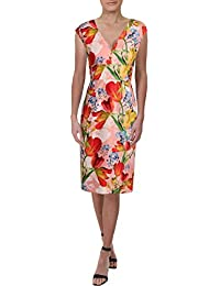 0438191306199 Womens Sleeveless Knee-Length Party Dress · Kay Unger