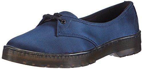 Dr Women's Flats Blu blu blue Dr Satinato Ballerine Donne Blu Martens Satin Morada Blue Martens Ballet Blue Delle Morada rXrCwxqH