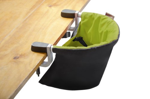 Image Of The Mountain Buggy Pod Clip On Highchair, Lime