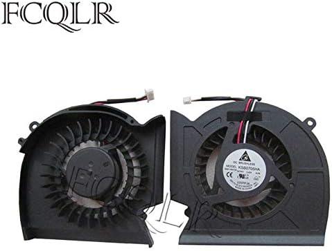FCQLR Ordinateur Portable CPU Ventilateur pour Samsung R523