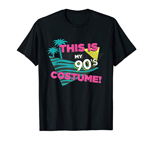 This Is My 90s Costume Party Tee Shirt, Nineties Style Shirt]()