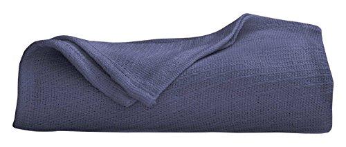 Martex Cotton Woven Blanket, King, ()