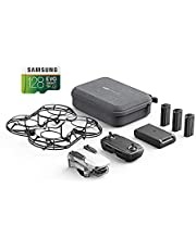 $418 » DJI Mavic Mini Combo Drone Quadcopter 2.7K Camera, Less than 0.55lbs, 30 Minute Flight Time with Samsung 128GB MicroSDXC 100MB/s Memory Card and Adapter