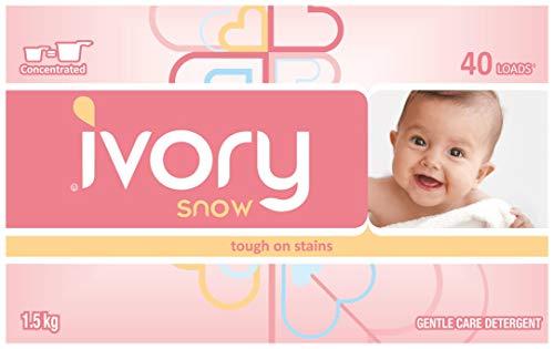 Ivory Snow Gentle Care Laundry Detergent, 40
