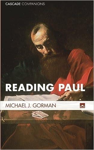 Laden Sie kostenlose PDF-Dokumente herunter Reading Paul: (Cascade Companions) MOBI by Michael J. Gorman
