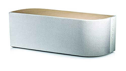 Wren Sound V5US Wireless Speaker with AirPlay, Bluetooth and DTS Play-FI - (Anigre with Almond Crème Finish)