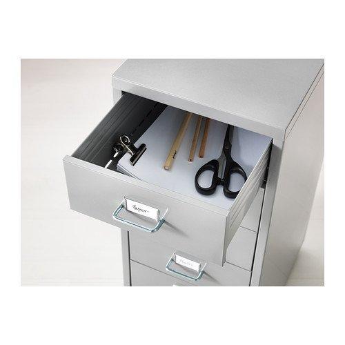 IKEA HELMER - unidad de cajón con ruedas, plata color ...