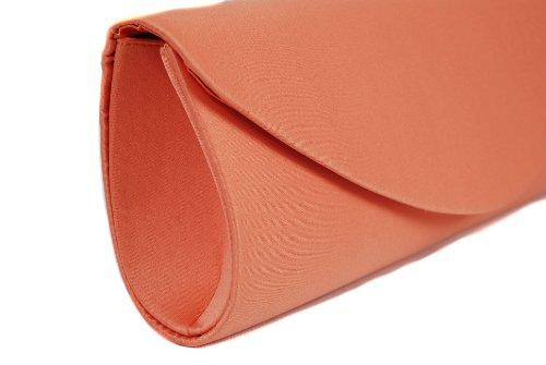 Perfect Handbags - Cartera de mano para mujer Naranja naranja