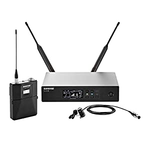 shure qlxd14 85 wireless system with wl185 cardioid lavalier microphone g50. Black Bedroom Furniture Sets. Home Design Ideas