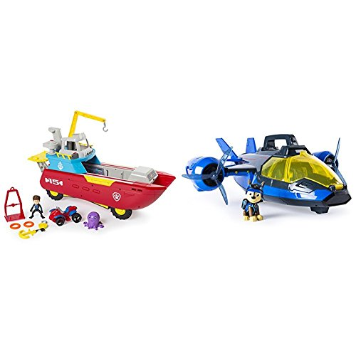 ller Transforming Vehicle with Lights and Sounds with Paw Patrol Mission Paw - Air Patroller - Amazon Exclusive Bundle ()