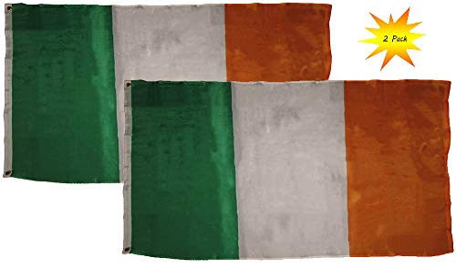 K's Novelties Ireland Flags - Pack of 2 Irish Flags - Perfec
