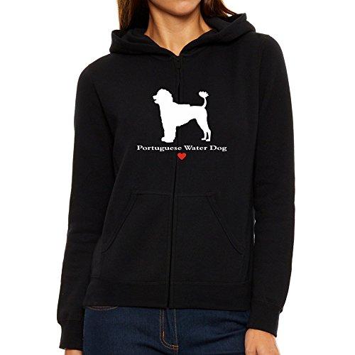 Water Dog donna Portuguese con Felpa cappuccio da love Eddany T5Oz1xqw