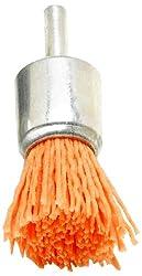 Dico 541-781-3/4 Nyalox End Brush 3/4-Inch Orange 120 Grit