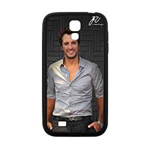 Luke Bryan Wallet Cases Protective Skin for Samsung Galaxy S4 Black